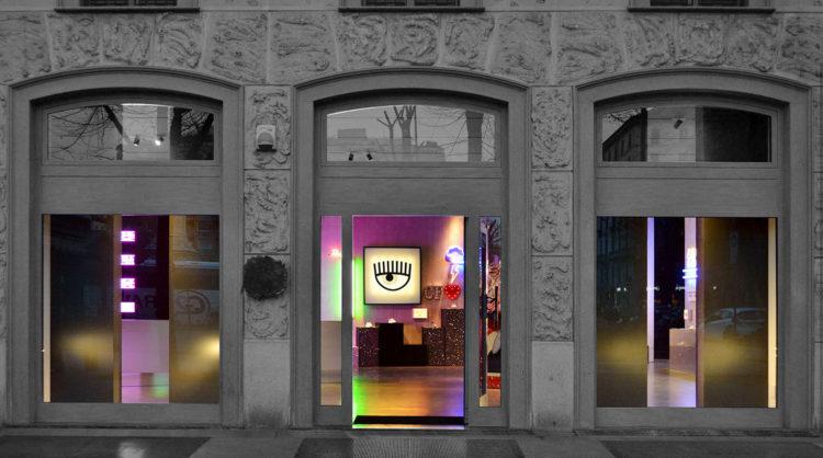89223c7877128b CHIARA FERRAGNI s new pop-up store  Milan  – FASHIONZINER BLOG