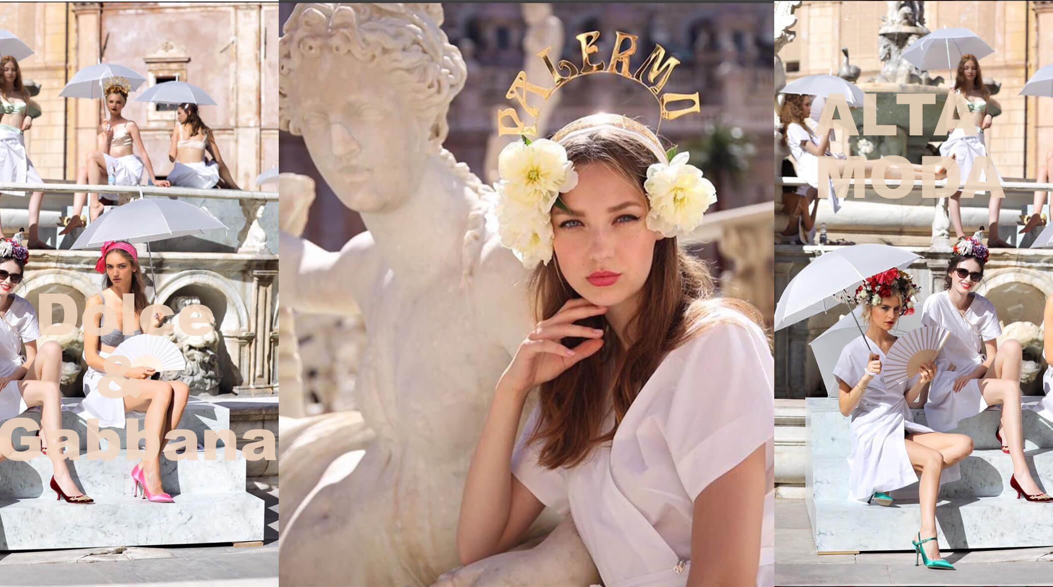 Dolce & Gabbana, this year chose Palermo – FASHIONZINER BLOG