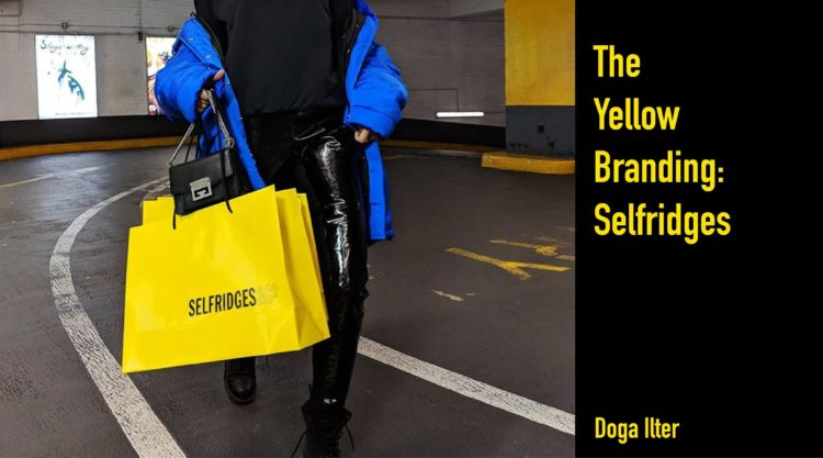 The Yellow Branding Selfridges