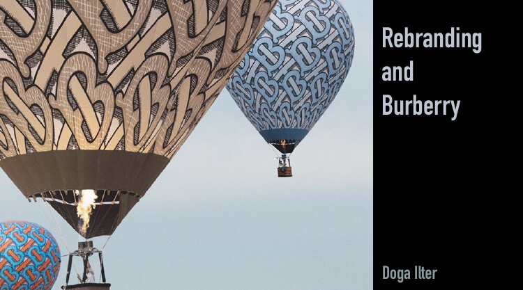 Rebranding and Burberry